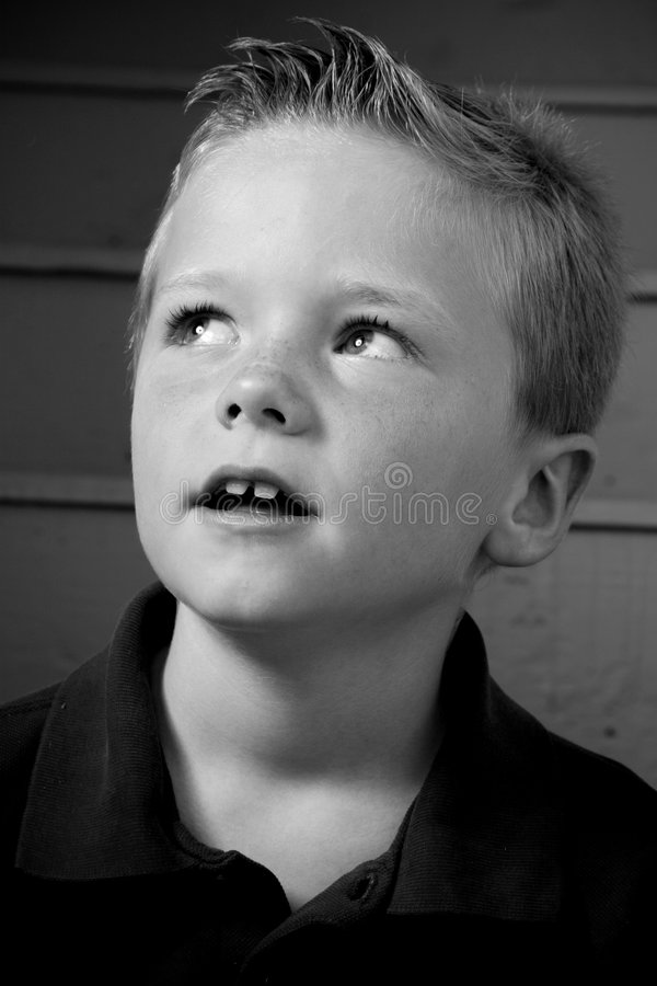 gullig pojke royaltyfri fotografi
