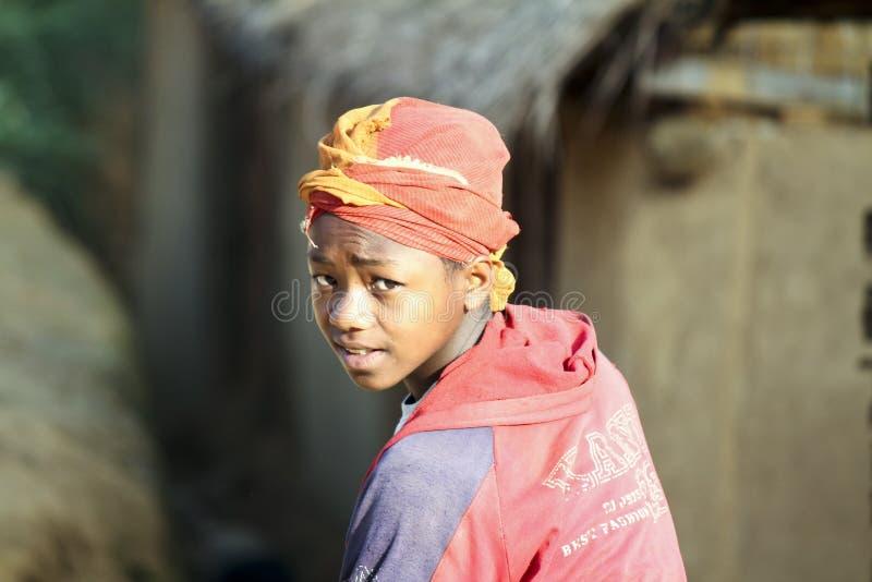 Svart afrikansk flicka kön