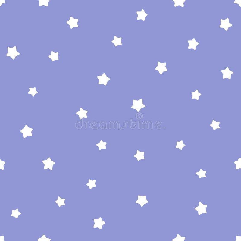 Gullig ungeillustration av natthimmel med stjärnor royaltyfri foto