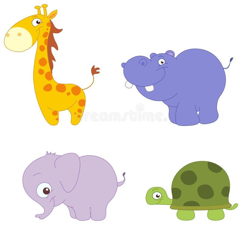 gulliga djur
