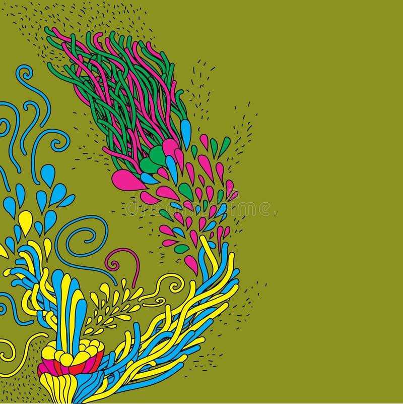 gulligt klotter tecknad hand vektor illustrationer