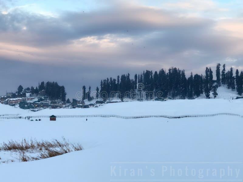 Gulmarg Kashmir photos libres de droits