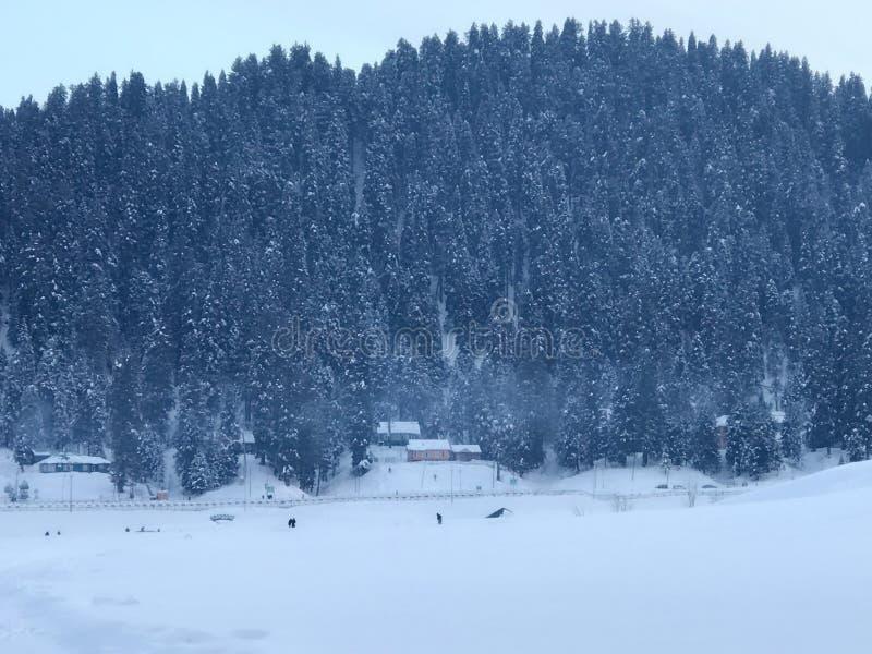 Gulmarg Kashmir photographie stock libre de droits