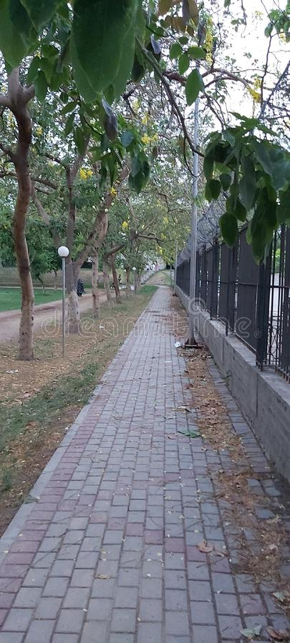 Gulshan Iqbal Park Lahore Pakistan royalty-vrije stock foto