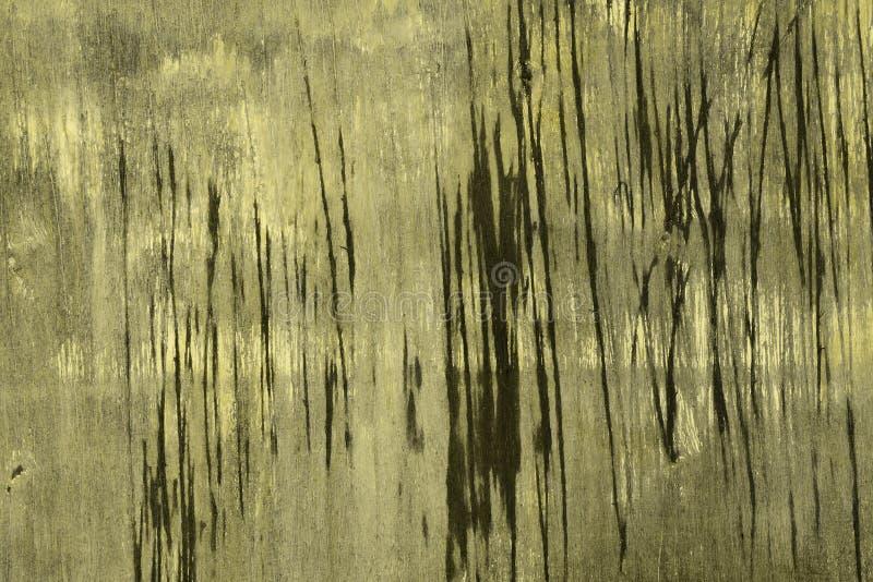 Gult tonat gammalt sjaskigt sörjer yttersidatextur - trevlig abstrakt fotobakgrund royaltyfri fotografi