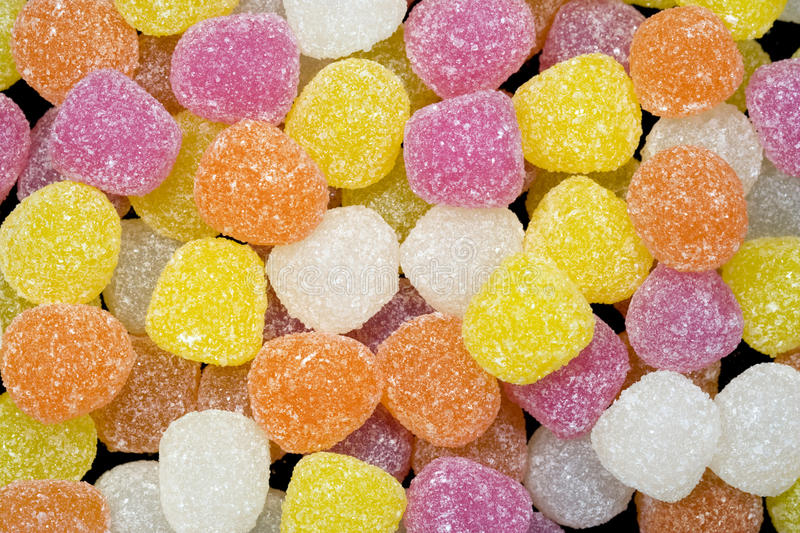Gum Drops Jellies royalty free stock image