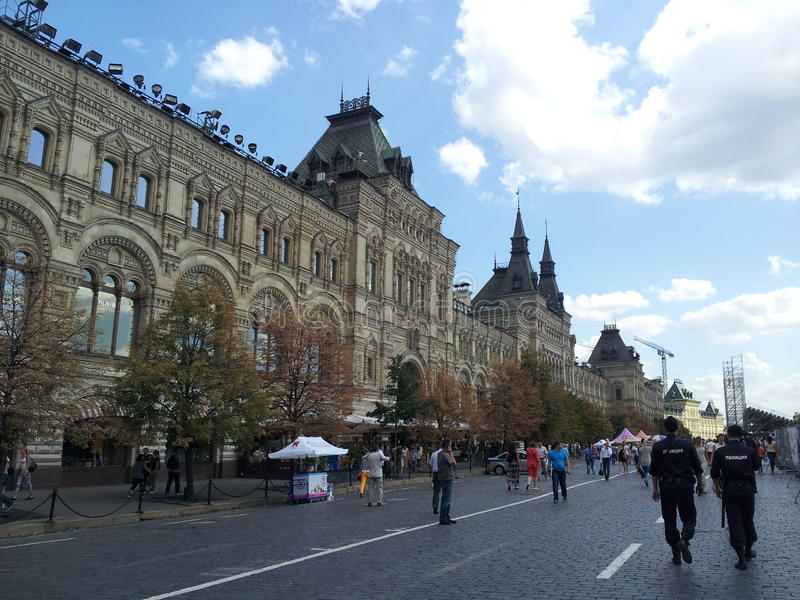 GUM, Red Square, Moscow, Russia royalty free stock photos