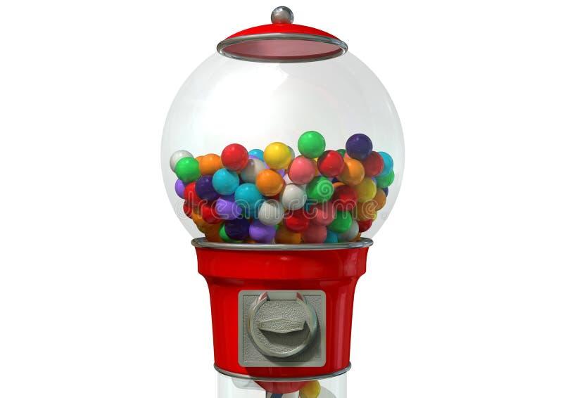 Download Gumball fördelande maskin fotografering för bildbyråer. Bild av sötsaker - 37346495