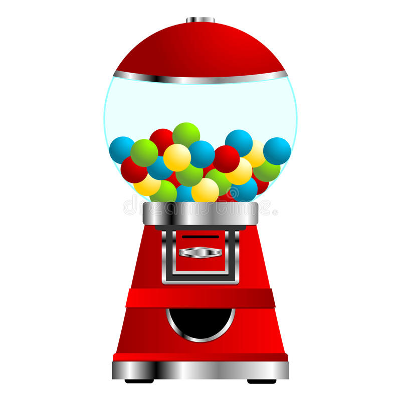 Download Gumball machine stock vector. Illustration of isolated - 17418239