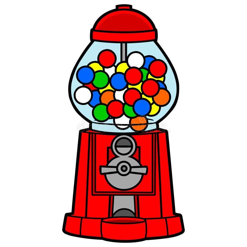Gumball Maschine lizenzfreie abbildung