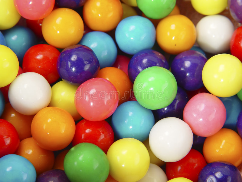 Download Gumballs stock image. Image of snack, sweets, chew, goodies - 7207