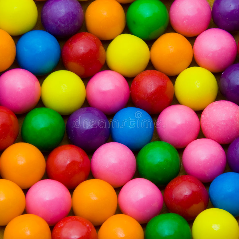 Gumballs royalty free stock image