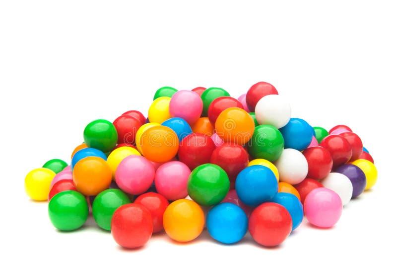Gumballs coloridos imagem de stock royalty free
