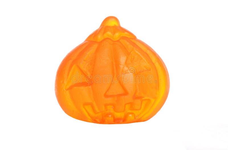 Gummi Halloween Kürbissüßigkeit lizenzfreies stockfoto