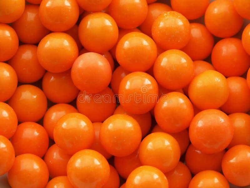 Gummi-Kugel-Hintergrund stockfotografie