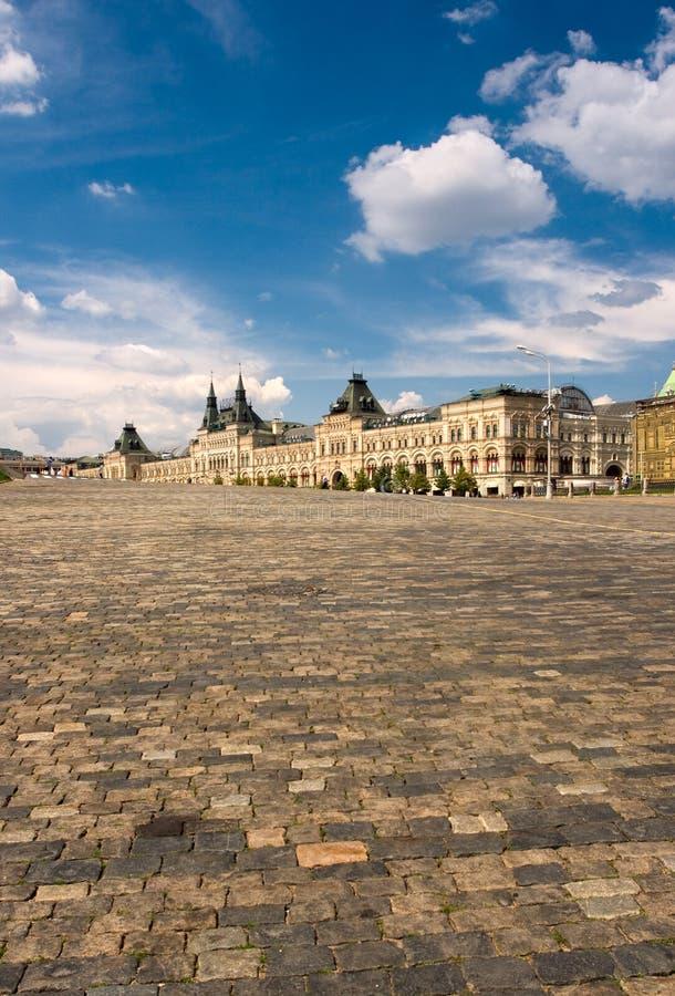 Gummi Moskau des roten Quadrats lizenzfreies stockbild