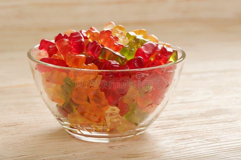 Gummiartige Bären lizenzfreies stockfoto