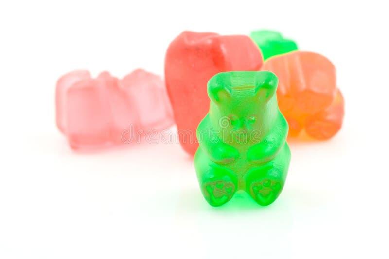 Gummiartige Bären. lizenzfreies stockfoto