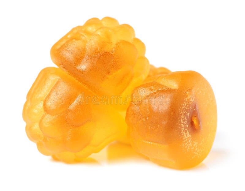 Gummiartige Süßigkeit stockbilder