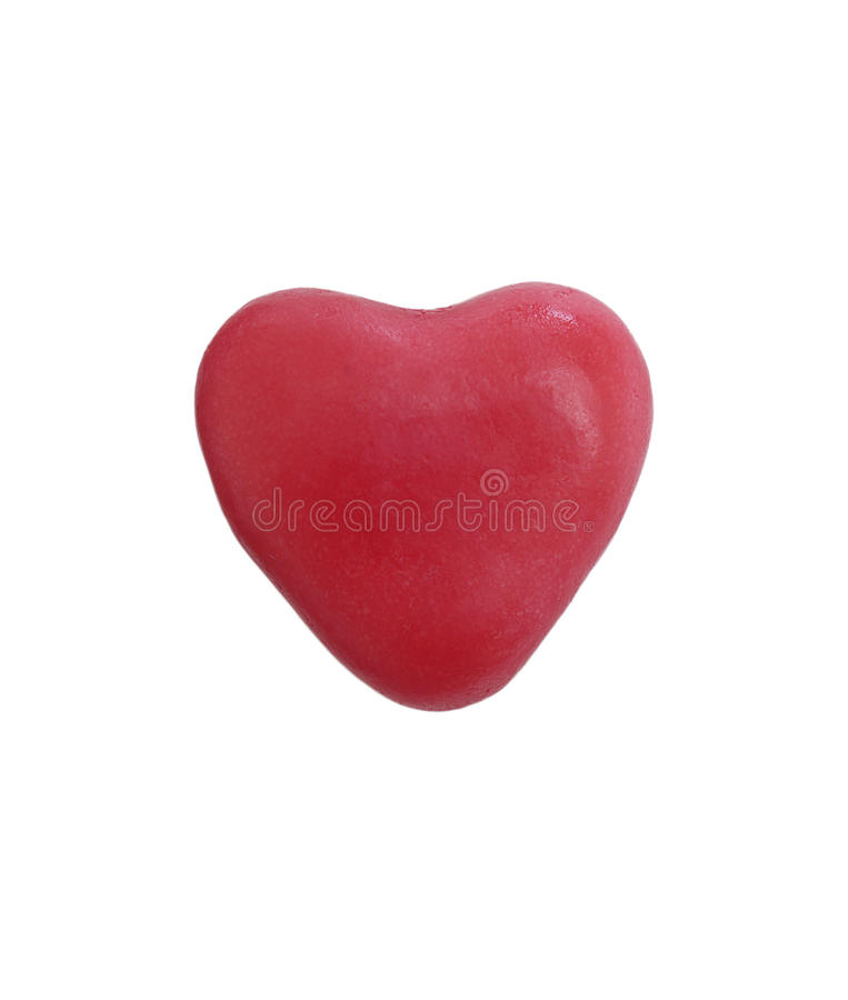 Gummiartige Süßigkeiten des Herzens lizenzfreie stockfotos