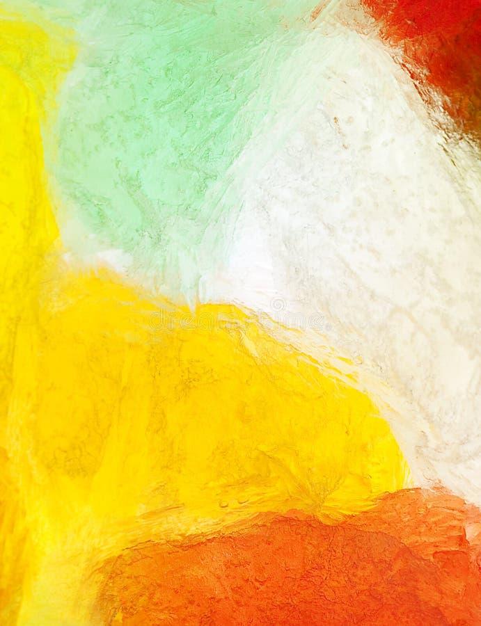 Gummies - som frysas på is royaltyfria bilder