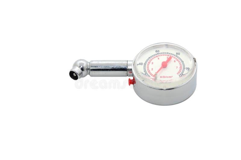 gummihjul för gaugetryck arkivfoton