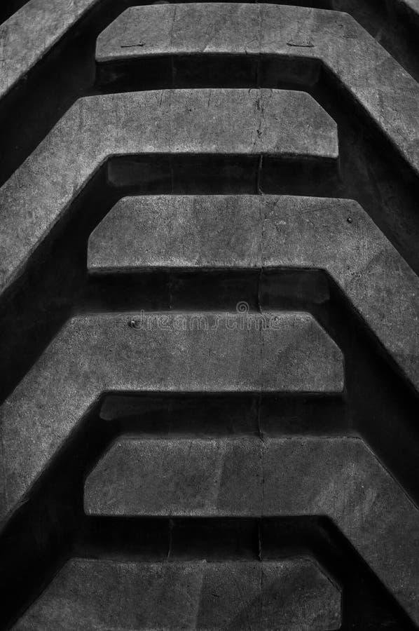 gummihjuldäckmönster fotografering för bildbyråer