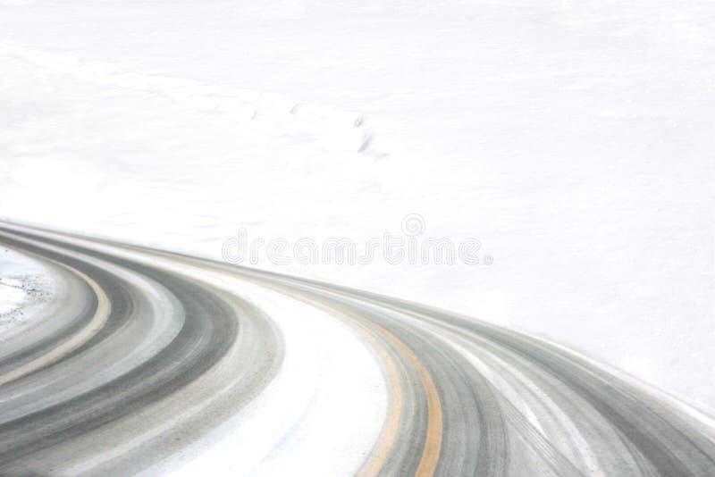 Gummireifen-Spuren lizenzfreie stockbilder