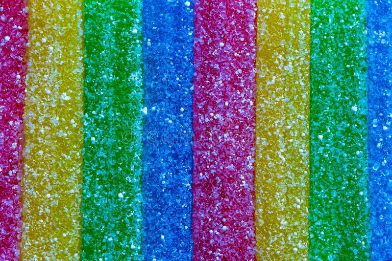 Gummy καραμέλα Sauer στοκ εικόνες