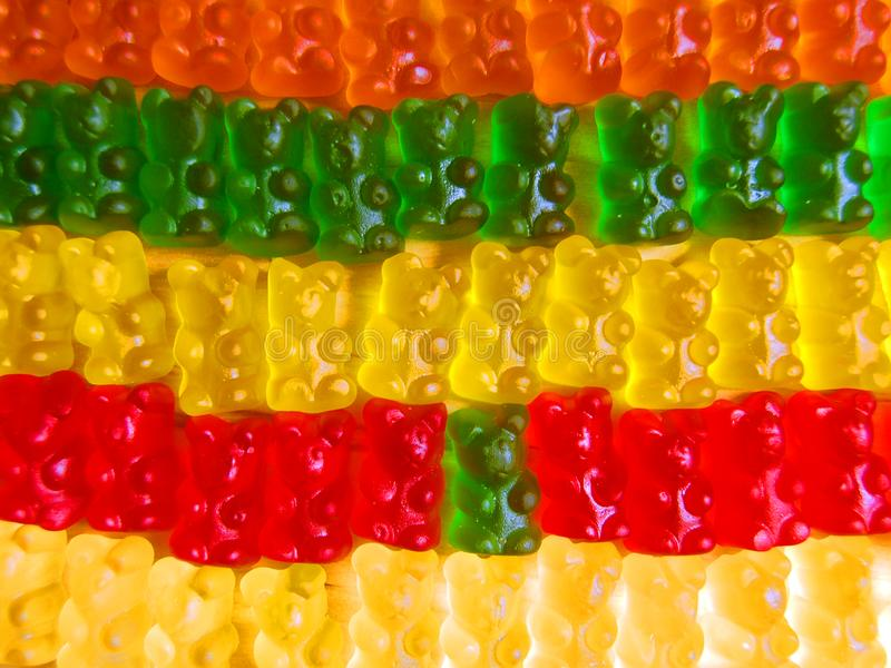 Gummy bears royalty free stock image