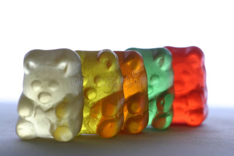 Gummy Bears royalty free stock photos