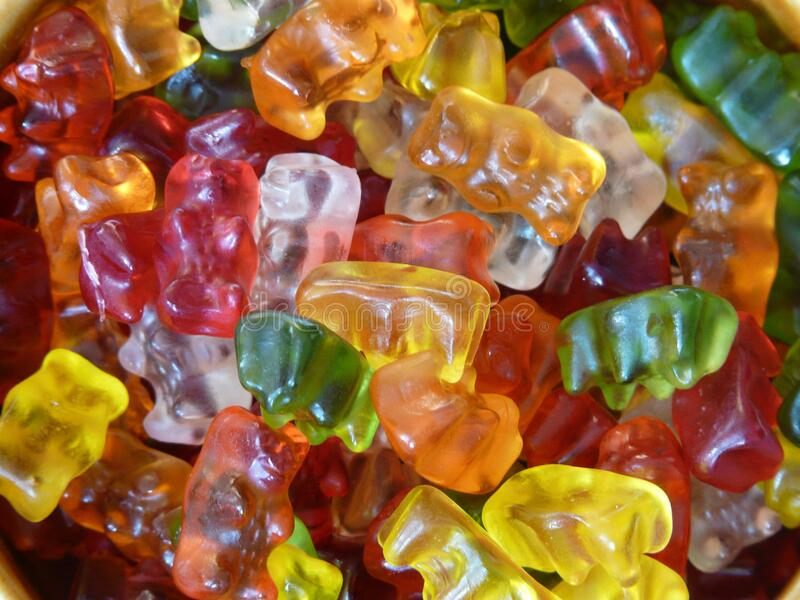 Gummy bears royalty free stock photography