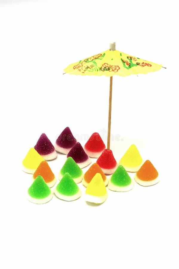 Gummy sweeties gelelly arkivbilder