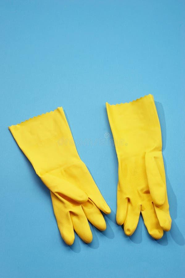 gumowe rękawiczki obraz royalty free