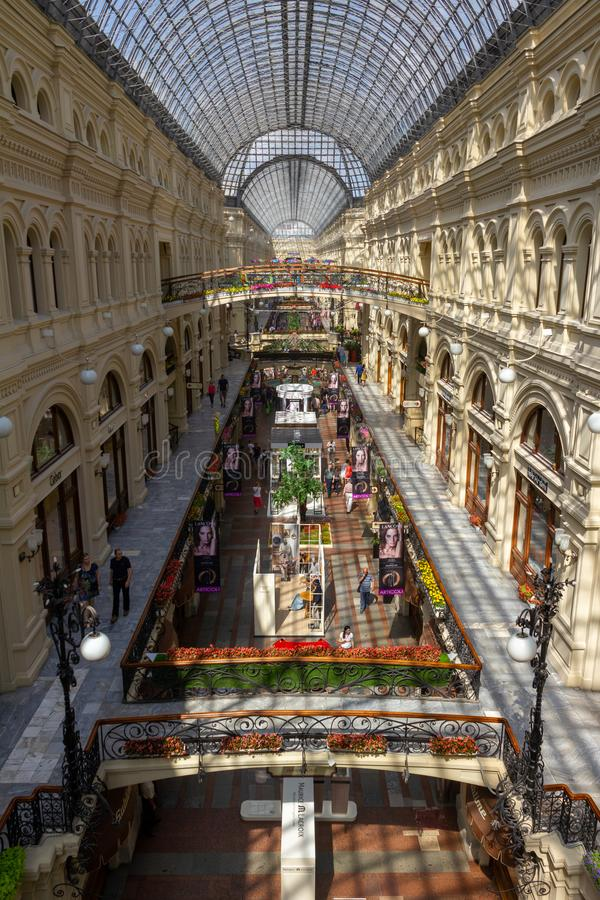 Gumowy Moskow na słonecznym dniu obrazy royalty free