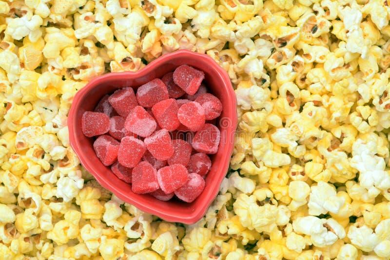 Gumowy valentine cukierek obraz stock
