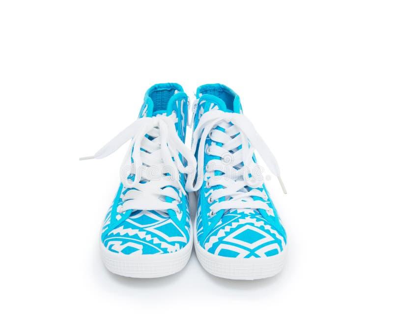Gumshoes, που απομονώνονται όμορφα στο λευκό στοκ εικόνα