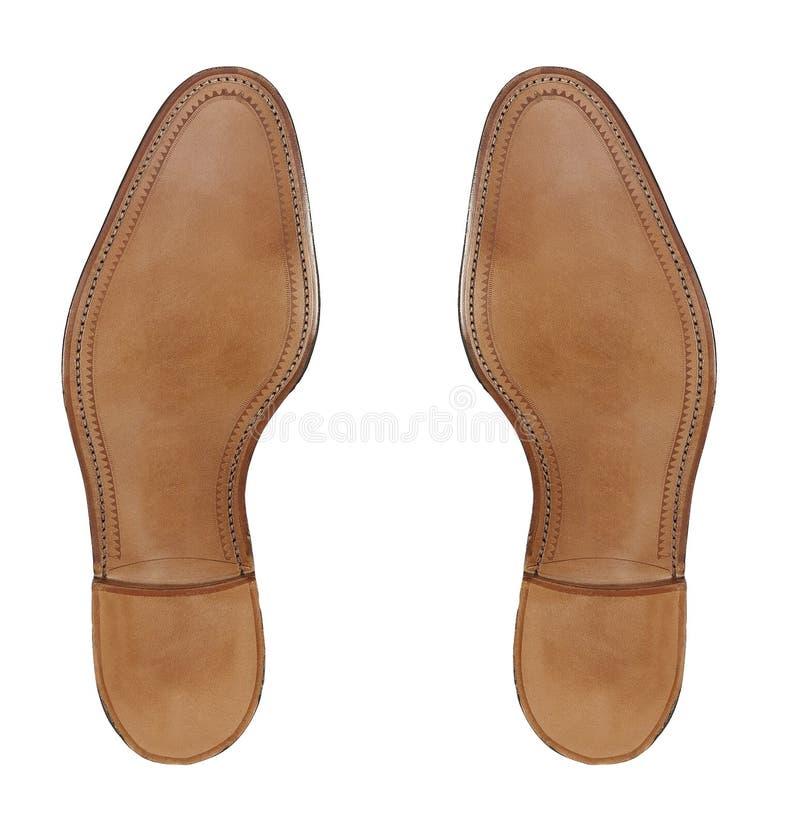 Gumy podeszwa mężczyzna buty obrazy stock