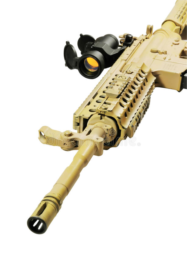 Download Gun stock photo. Image of isolated, danger, ammo, clip - 11802014