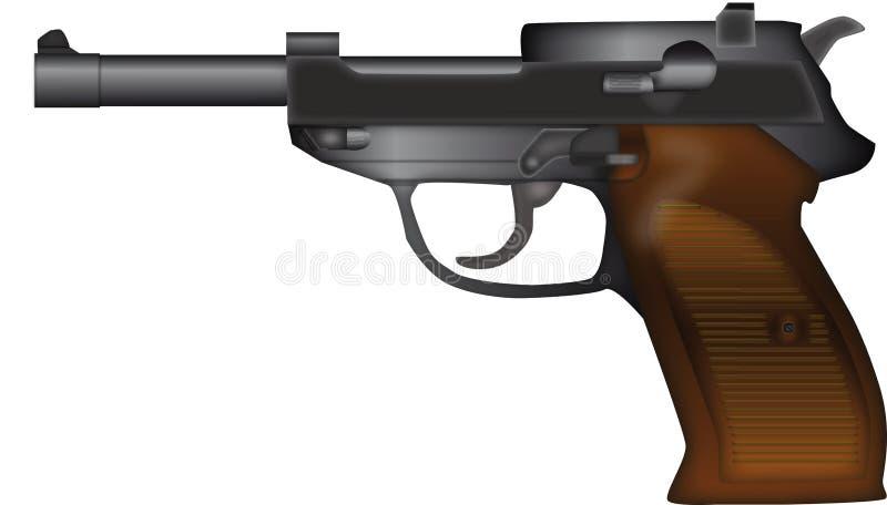 Gun royalty free illustration