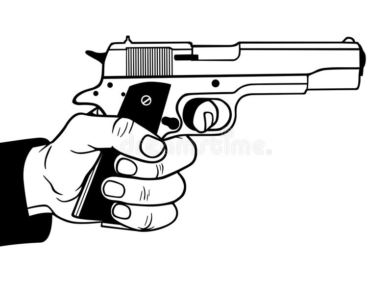 Download Gun Royalty Free Stock Photography - Image: 22702387