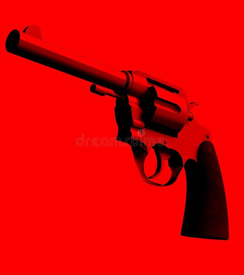 Download The Gun 4 stock illustration. Illustration of dangerous - 4921344