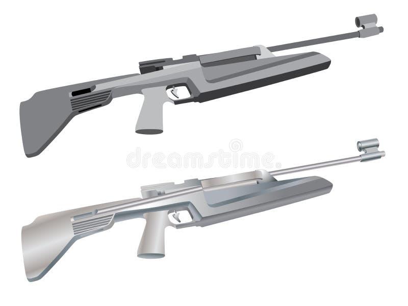 Download Gun stock vector. Image of protection, rifle, danger, bullet - 5568214