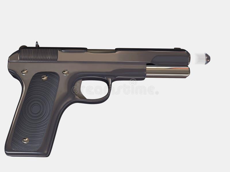 Gun stock illustration