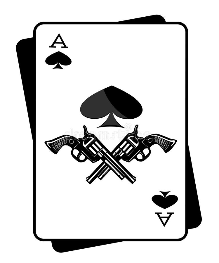 The gun and the ace