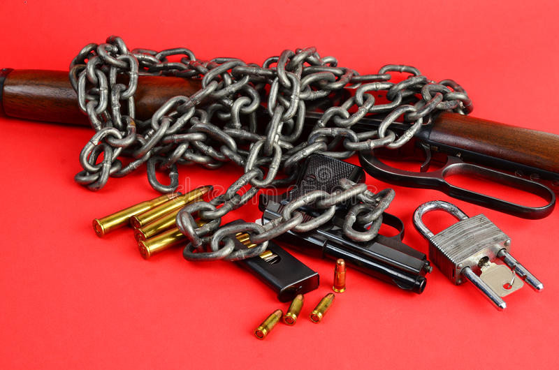 Download Gun Control stock image. Image of lever, clip, carbine - 28257685