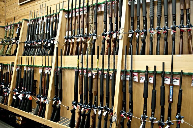 Gun department royalty free stock images