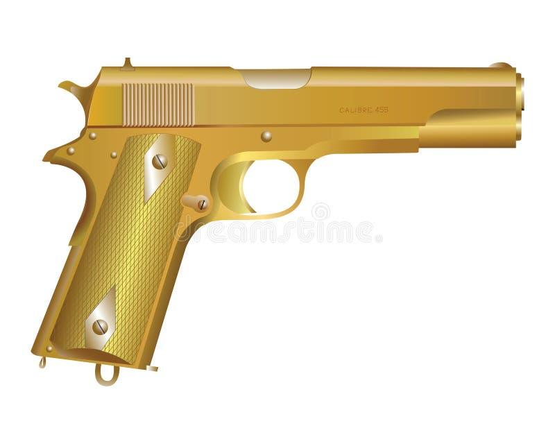 Gun illustration stock images