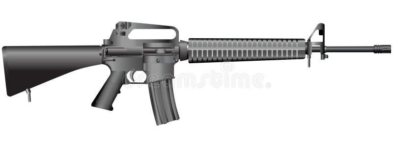 Gun illustration(vector) vector illustration