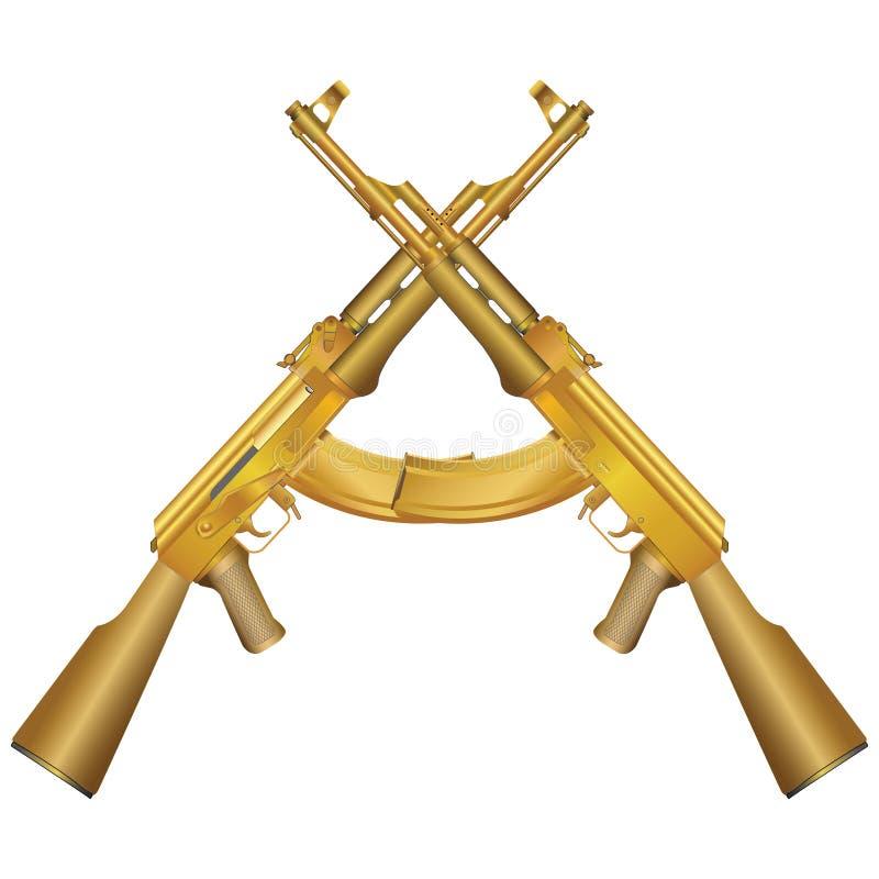 Gun illustration(vector) stock photo